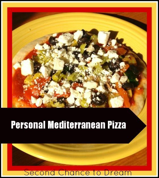 Second Chance to Dream: Personal Mediterranean Pizza