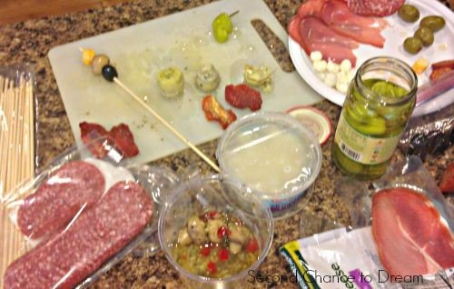 Second Chance to Dream: Quick & Easy Antipasto Skewers