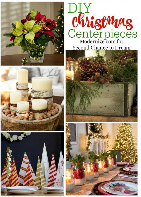Second Chance To Dream Diy Christmas Centerpieces
