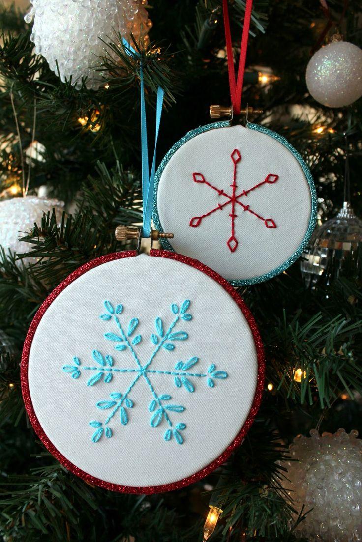 Stitching: Snowflake Pattern: