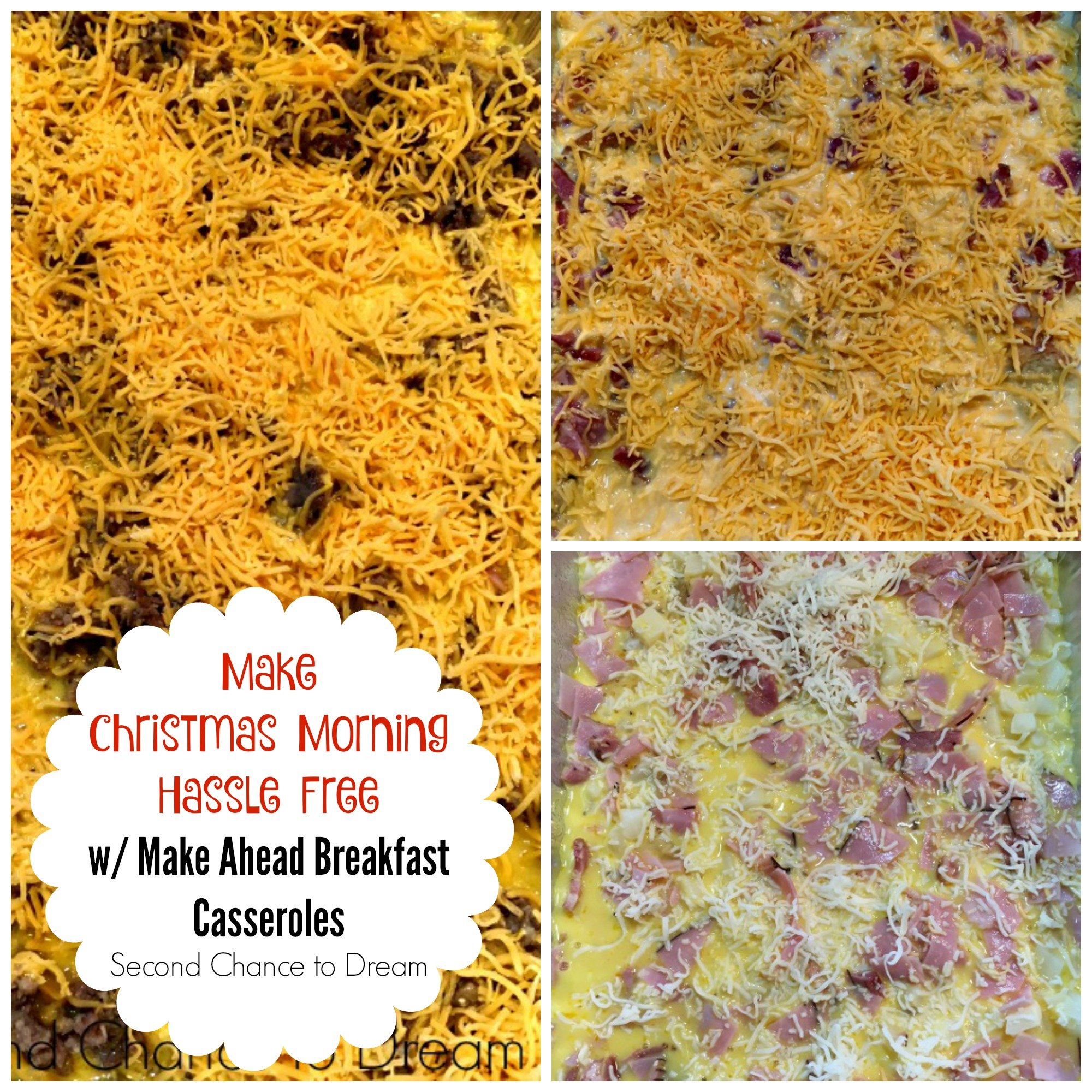 Second Chance to Dream: Make Christmas Morning Hassle Free with Make Ahead Breakfast Casseroles