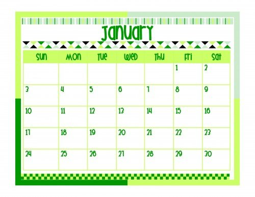 Second Chance to Dream: 2016 Printable Calendar