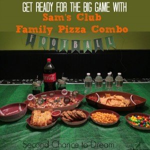 Sam's Club Family Pizza Combo perfect for the BIG Game