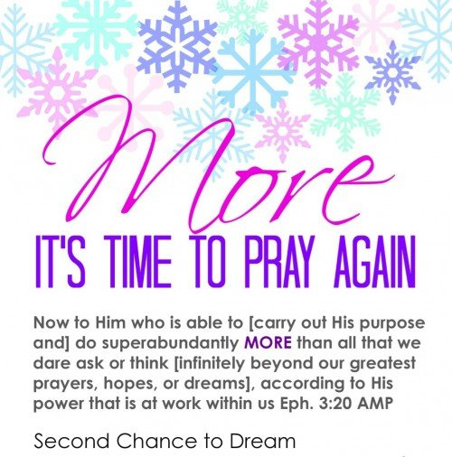 More It's Time to Pray Again 1