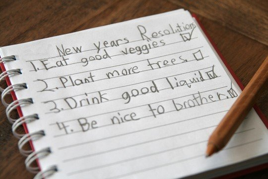 Second Chance to Dream: Turn your resolutions into family goals