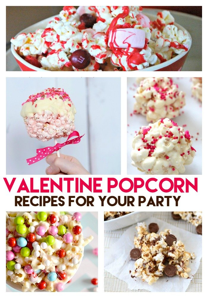 valentine popcorn recipes