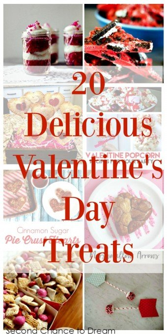 Second Chance to Dream: 20 Delicious Valentines's Day Treats #valentinesday #recipes