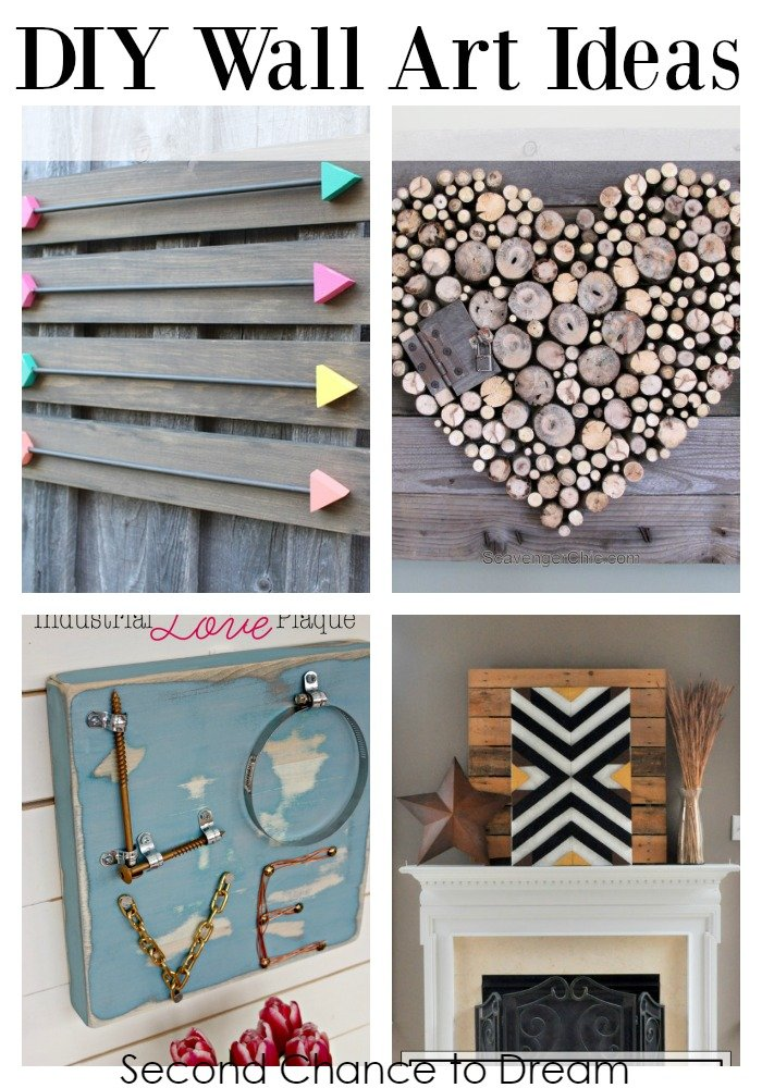 Second Chance to Dream; DIY Wall Art Ideas #DIY #DIYwallart #DIYDecor