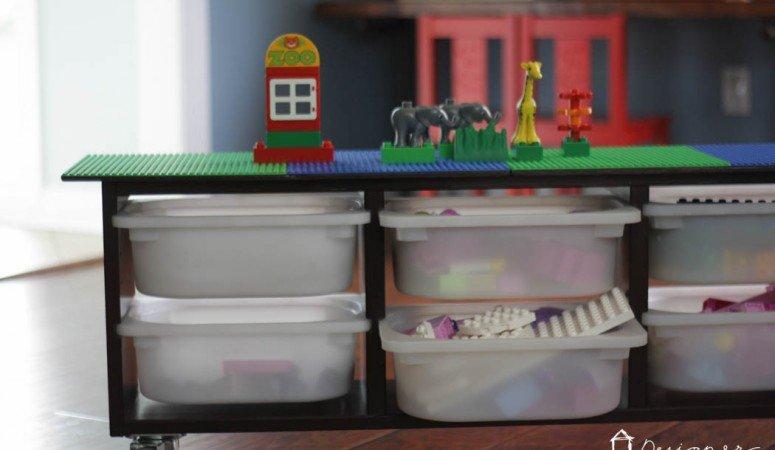 Ikea Hack: DIY Lego Table