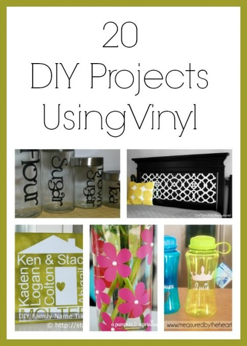 diy vinyl projects