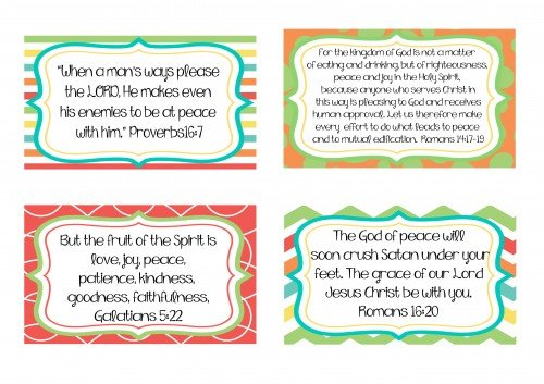 Second Chance to Dream: Scripture Memory Cards