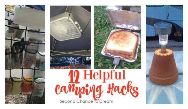 Second Chance to Dream: 12 Helpful Camping Hacks #camping