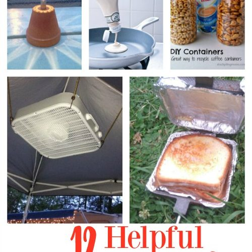 12 Helpful Camping Hacks