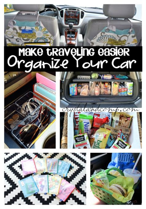 22 ways to organize your car