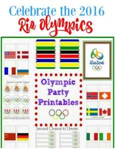 2016 Rio Olympic Party Printables