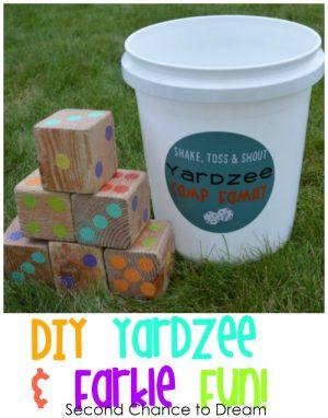 DIY Yardzee & Farkle Fun!