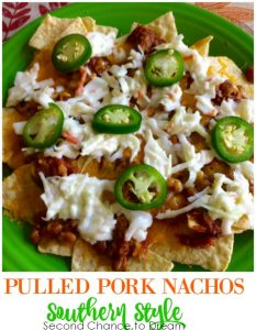 Pulled Pork Nachos- Southern Style