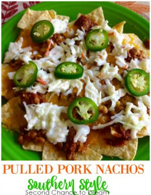 Pulled Pork Nachos- Southern Style