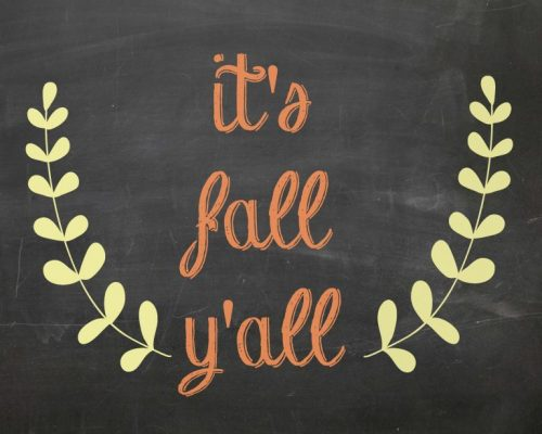 Second Chance to Dream: Free Fall Printables #Fall #Printables
