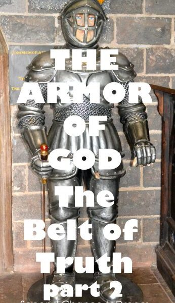 Second Chance to Dream: Belt of Truth Second Chance to Dream: The Belt of Truth Learn to live life victoriously #Biblestudy #ArmorofGod