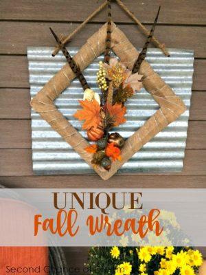 Unique Fall Wreath
