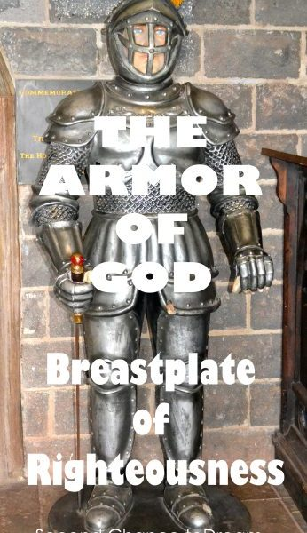 Second Chance to Dream: Breastplate of Righteousness
