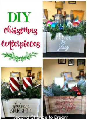 Quick & Easy DIY Christmas Centerpieces