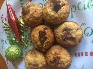 Cherry Pecan Streusel Muffins