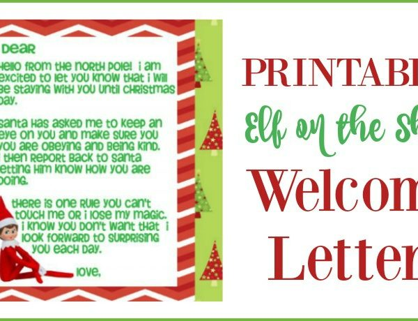 Elf On The Shelf Welcome Back Letter Printable.Second Chance To Dream Elf On The Shelf
