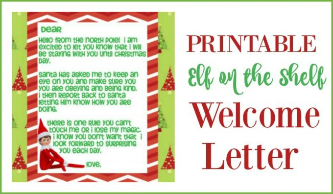 Divine image inside letters from elf on the shelf printable