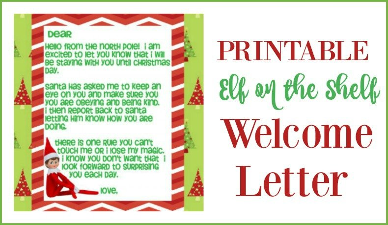 photo relating to Printable Elf on the Shelf Letter named Minute Probability In direction of Aspiration - Printable Elf upon the Shelf Welcome