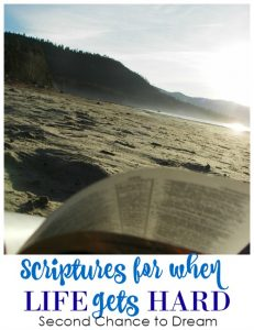 Scriptures for when life gets HARD!