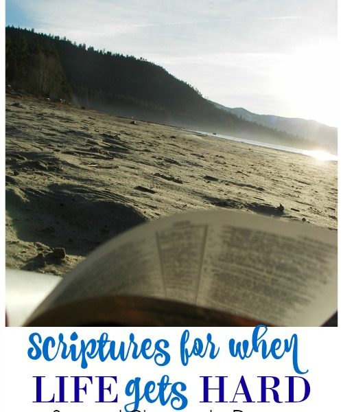 Second Chance to Dream: Scriptures for when life gets hard