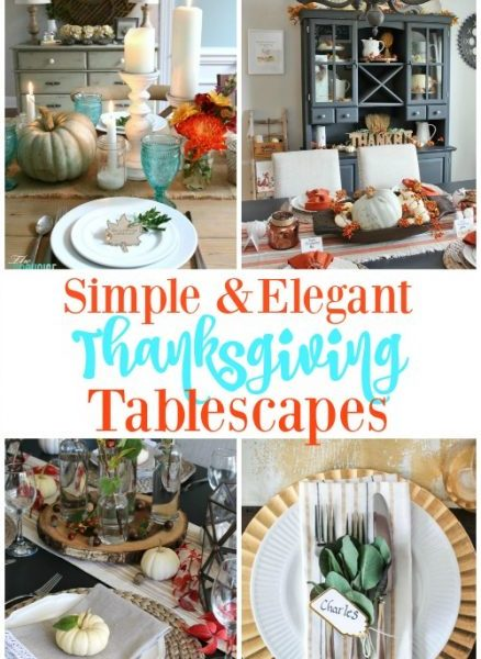 Second Chance to Dream: Simple & Elegant Thanksgiving Tablescapes