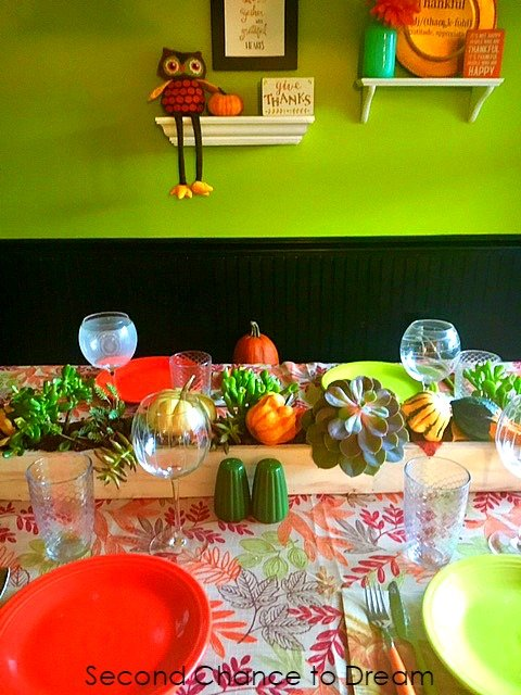 Second Chance to Dream: Living Thanksgiving Centerpiece #Thanksgiving #DIYCenterpiece