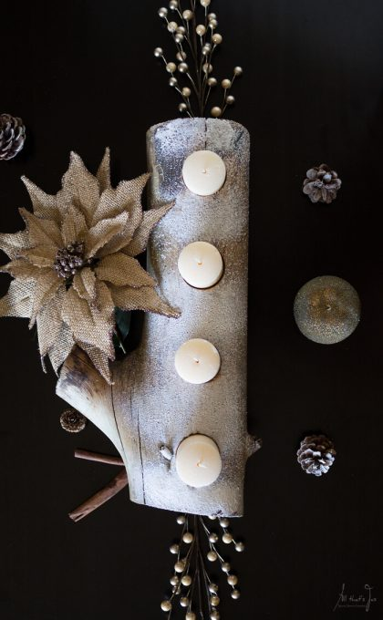 DIY Advent wreath - All that's Jas