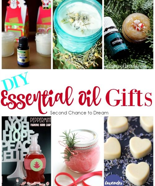 Second Chance to Dream: DIY Essential Oil Gifts #essentialoils #giftideas