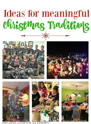 Ideas for meaningful Christmas traditions