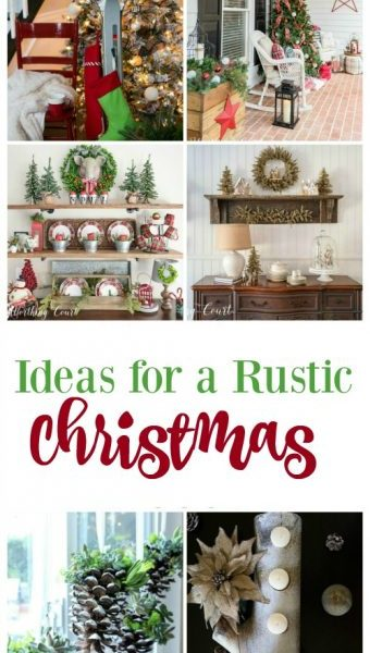 Second Chance to Dream: Ideas for Rustic Christmas Decor