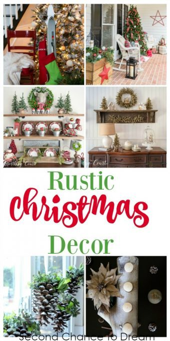 Second Chance to Dream: Rustic Christmas Decor