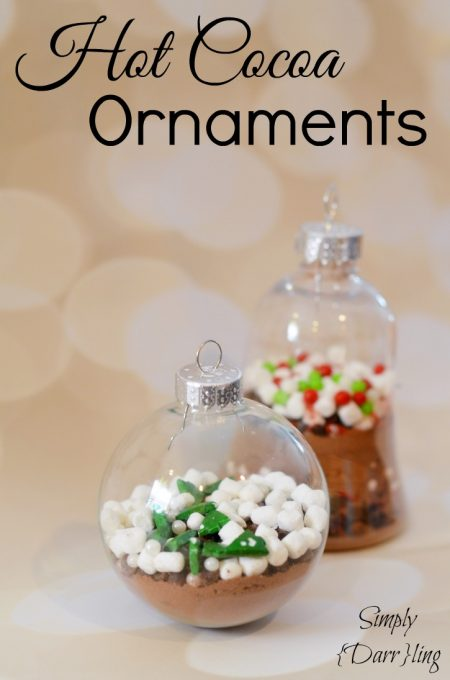 DIY Hot Cocoa Ornament