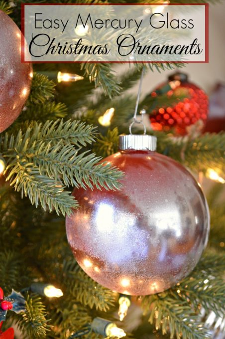 Easy DIY Ornament | Christmas | Glass | Gifts | Paint | Vintage | Homemade www.chatfieldcourt.com
