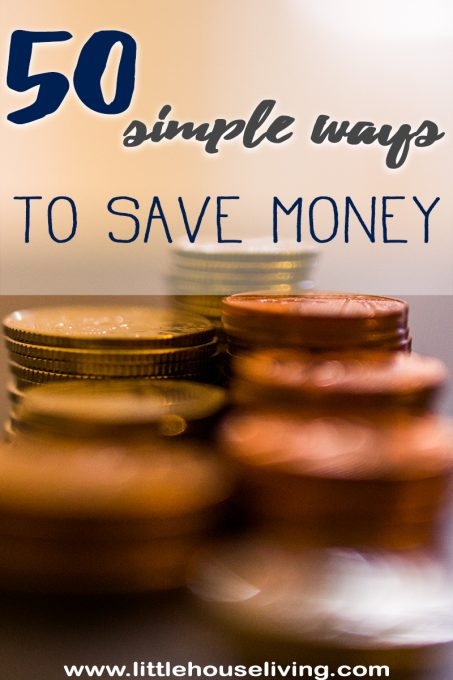 50 More Ways to Save Money this year!