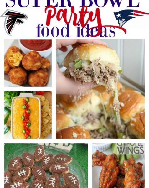 Second Chance to Dream: Super Bowl Party Food Ideas