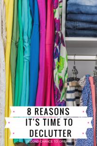 8 Reasons it's Time to Declutter
