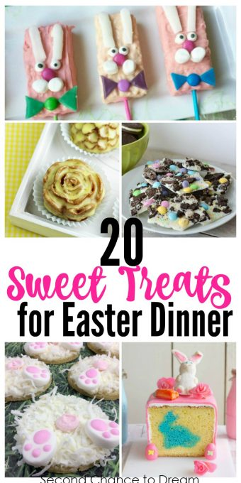Second Chance to Dream: 20 Sweet Treats that are perfect for your Easter dinner #Easter #desserts #sweets