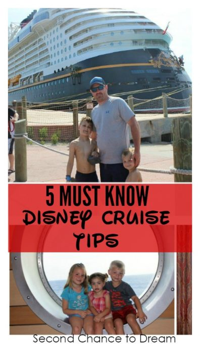 Second Chance to Dream: 5 Must Know Disney Cruise Tips #DisneyCruise