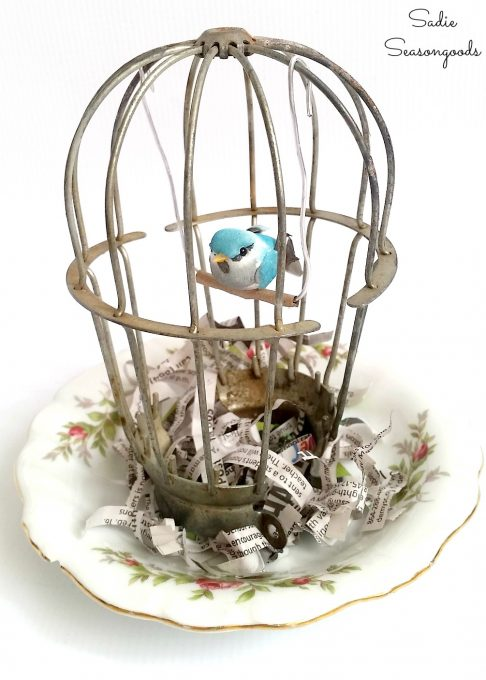 Industrial Light Cover Bird Cage