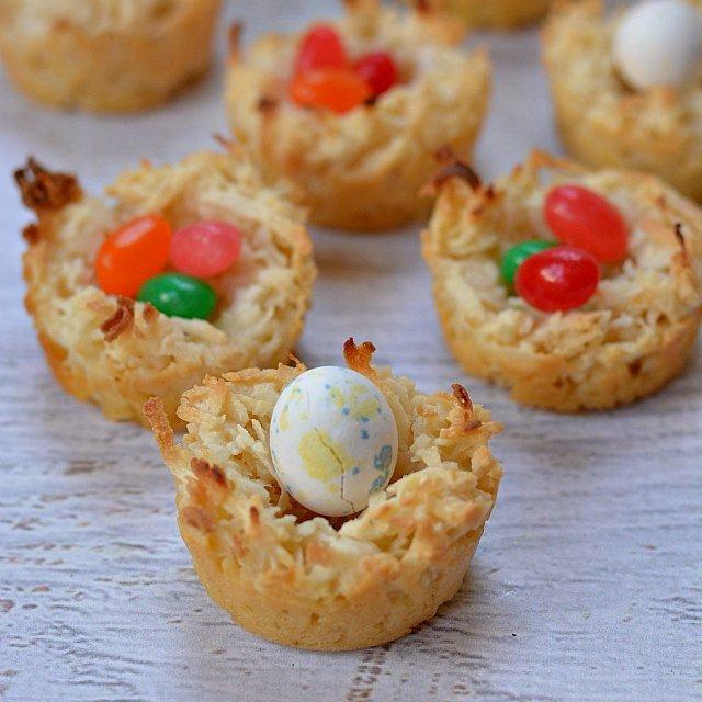 Coconut Easter Nest Cookies