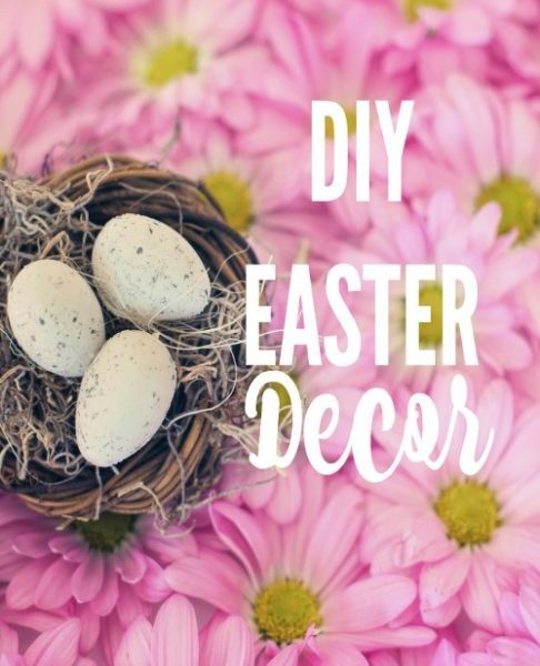 Second Chance to Dream: DIY Easter Decor Lots of easy DIY ideas to create a festive atmosphere for your home.
